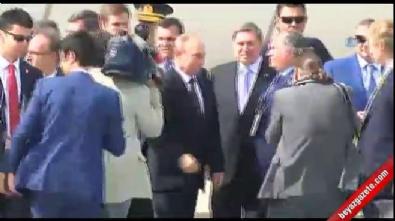 Rusya Devlet Başkanı Putin, İstanbul'a geldi