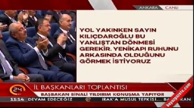 Başbakan Yıldırım: Kısa sürede Meclis'e teklifimizi götüreceğiz