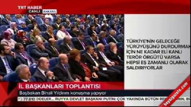 Başbakan Yıldırım CHP'yi uyardı