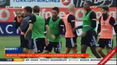 Beşiktaş'ta Cenk Tosun - Caner Erkin kavgası