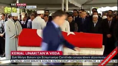 Maliye Eski Bakanı Kemal Unakıtan'a veda