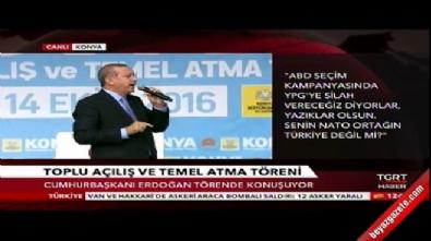 Cumhurbaşkanı Recep Tayyip Erdoğan'ın Konya konuşması...