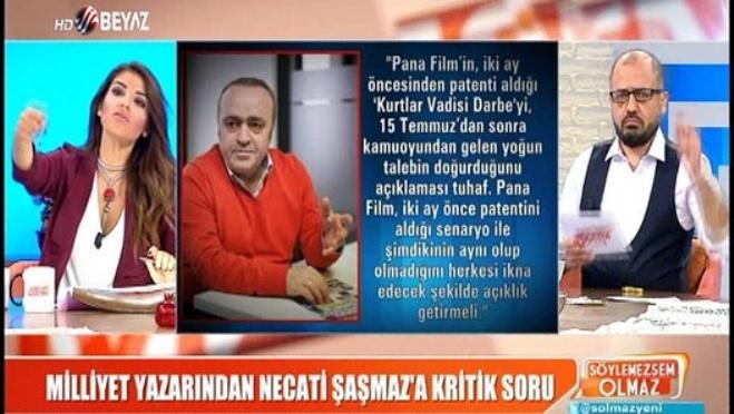 kurtlar vadisi - Ali Eyüboğlu: Yazdıklarım doğru ki Pana Film cevap veremiyor!