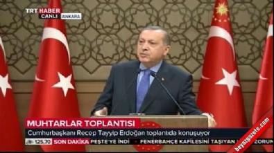 Cumhurbaşkanı Erdoğan: Eşek arısı olmayın bal arısı olun