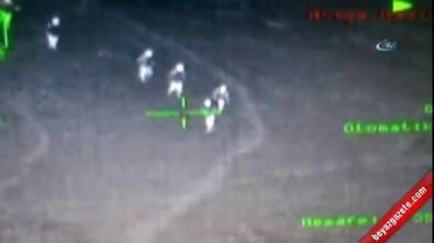 Ordu Mesudiye'de teröristlerin vurulma anı kamerada