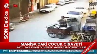 muge anli - Katilin Minik Irmak'ın cesedini taşıma anı güvenlik kamerasında