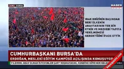 Cumhurbaşkanı Erdoğan: El Bab'a mecbur ineceğiz