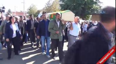 HDP milletvekili PKK'lı teröristin cenazesine katıldı