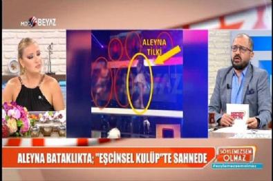 16 yaşındaki Aleyna Tilki'nin 'Eşcinsel Kulüp'teki şok görüntüleri