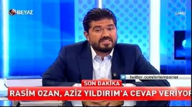 Rasim Ozan: Aziz Yıldırım bırakmaz