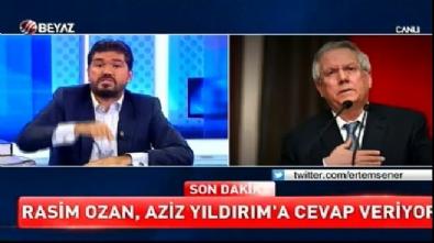 aziz yildirim - Rasim Ozan: Aziz Yıldırım FETÖ'cü savcılarla kankaydı