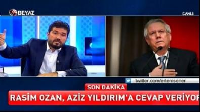 aziz yildirim - Rasim Ozan Aziz Yıldırım'ı düelloya davet etti