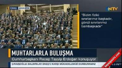 Erdoğan'dan Münbiç mesajı