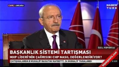 Kemal Kılıçdaroğlu: Bahçeli'yi anlamış değilim İzle