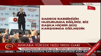 Cumhurbaşkanı Erdoğan'dan idam isteyen halka cevap!