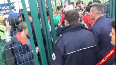 Bursa'daki amatör küme maçında olaylar çıktı