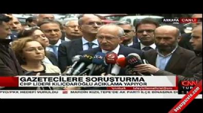 Kılıçdaroğlu: Karşı darbe olayıyla karşı karşıyayız