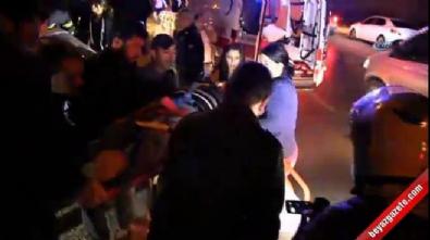 Otomobil ikiye bölündü: 1 öldü, 1 yaralı