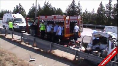 mersin - Düğün dönüşü kaza: 2 ölü, 3 yaralı