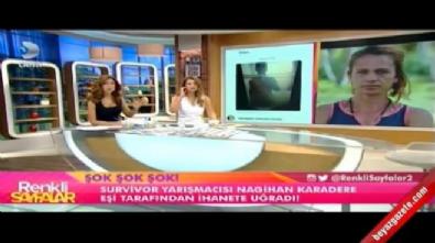 Survivor Nagihan'a büyük şok! Eşinin çıplak fotoğrafları ortaya çıktı