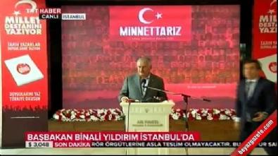 Başbakan Binali Yıldırım'dan Şemdinli açıklaması