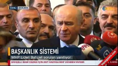 Bahçeli'den 'Başkanlık' açıklaması