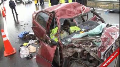 Bursa Otobanı'nda kaza dehşeti: 3 ölü