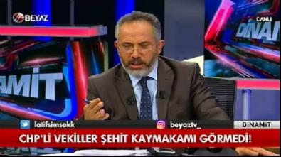 Latif Şimşek'ten CHP'lilere sert tepki