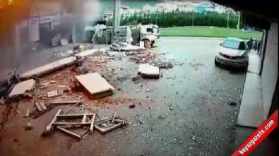 İstanbul'daki patlamanın görüntüleri ortaya çıktı