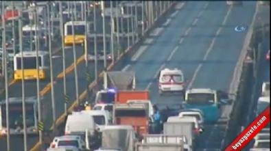 E-5 otoyolu Küçükçekmece Kavşağında kaza:1 ölü