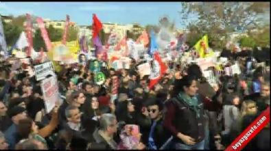 "CHP ve HDP'den ""Teslim Olmayacağız"" mitingi"