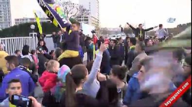 fenerbahce - Fenerbahçe zorlu maç için yola çıktı