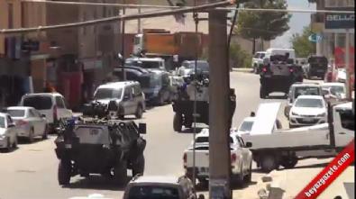 Teröristlerin yola döşediği mayın patladı: 2 yaralı