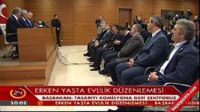 ataturk - Başbakan Binali Yıldırım: Tasarıyı komisyona geri çekiyoruz