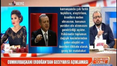 Erdoğan, cinsel istismar önergesi için ne dedi?