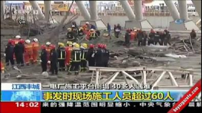Çin'de inşaat faciası