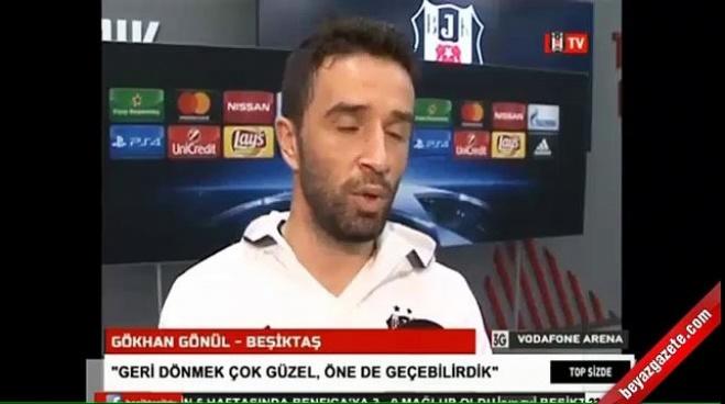 fenerbahce - Gökhan Gönül'den Beşiktaş gafı