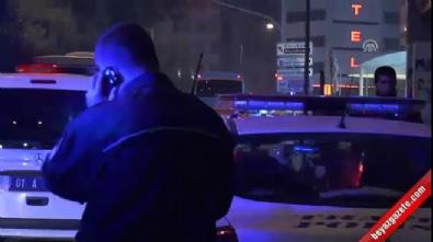 Bisikleti alınan adam polis aracına saldırdı