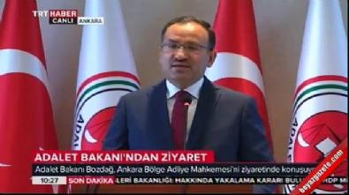 Adalet Bakanı Bozdağ: Bozdağ: Polis ve sivil şehitlerimiz var
