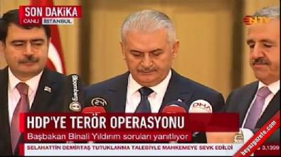 Başbakan Yıldırım'dan Diyarbakır saldırısı açıklaması