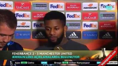 Lens Manchester United'a attığı frikik golünü anlattı