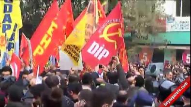 Şişli'de HDP'li gruba müdahale
