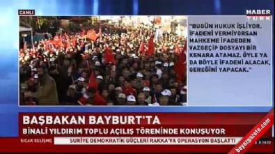 Başbakan Yıldırım HDP'nin Meclis kararını değerlendirdi