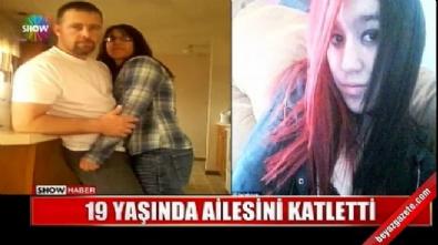 Genç kız kendine tecavüz eden üvey babasını öldürdü, annesini yaraladı!