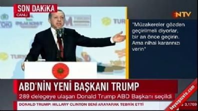Cumhurbaşkanı Erdoğan: YPG gelsin sizi kurtarsın