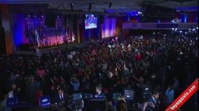 Donald Trump zafer konuşmasında dünyaya seslendi