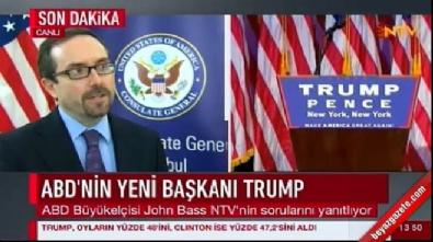 John Bass, ABD'deki seçim sonuçlarını değerlendirdi