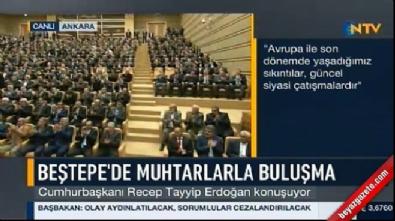 Cumhurbaşkanı Erdoğan: AB'nin peşinden koşacak değiliz