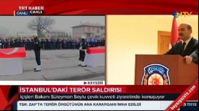 İçişleri Bakanı Soylu: Terör örgütüne gereken cevabı vereceğiz