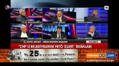 Celal Kılıçdaroğlu canlı yayında Didim Belediye Başkanının yüzüne Fetöcü dedii